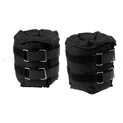 2 x 5kg Adjustable Ankle/Wrist Weights