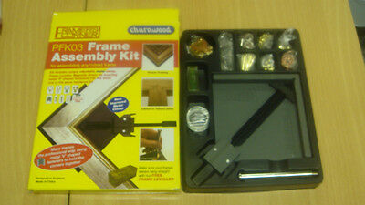 PFK03 Picture Frame assembly kit, v nailer clamp Great gift idea
