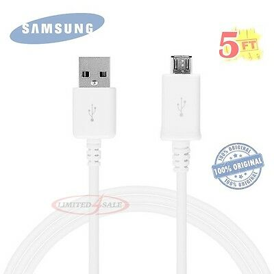 Original OEM USB Sync Data Charging Cable Cord For Samsung Galaxy S3 S4 Note 2 4