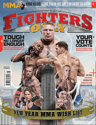 Fighters Only Magazine Issue 125 (February 2015 Issue)