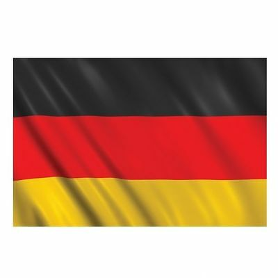 German Flag Size 5ft x 3ft - Germany Black Red & Yellow Material Flag - 993980
