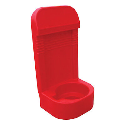 Jonesco Moulded Pod Single Fire Extinguisher Stand Red