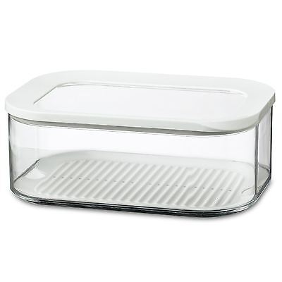 Rosti Mepal Modula 2L Rectangular Cheese Storage Box Airtight Lid
