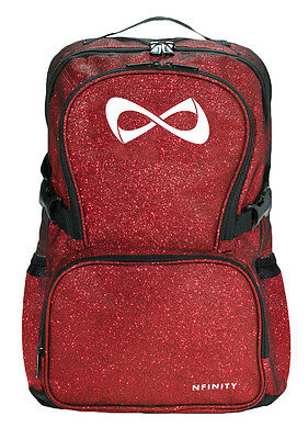 Nfinity Sparkle Backpack Red/White