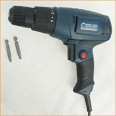 100305 Quality 10mm Electric Corded Drill Screwdriver 280W 220V 50Hz 0-750RPM
