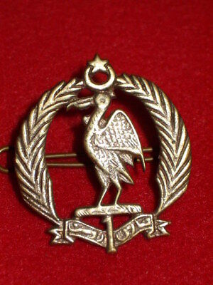 Indian Army - 1st Bahalwalpar Infantry Cap Badge, Colonial
