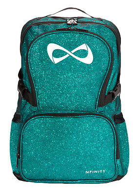 Nfinity Sparkle Backpack Teal/White