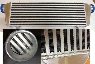 """Universal FRONT MOUNT INTERCOOLER  550 x140 x65  Bar and Plate INLET/OUTLET 2,5"""""""