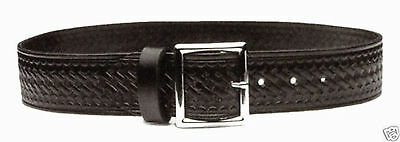 Leather Garrison Police Security Uniform Belt Black BW