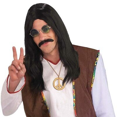 Hippie Dude Wig Costume Accessory Adult Halloween