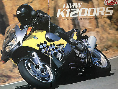 Bmw K1200Rs # First Ride # Original Motorcycle Test / Article # 3 Pages