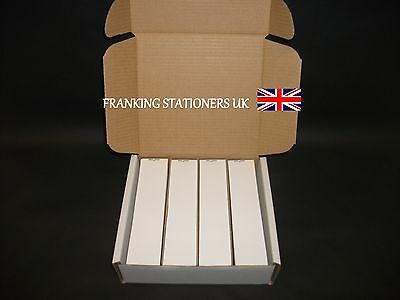 100 x Pitney Bowes single adhesive franking labels (44 x 165mm)