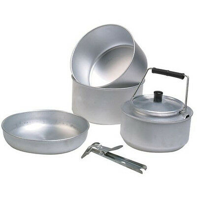 Trekker 5 piece cook set - perfect for camping, hiking