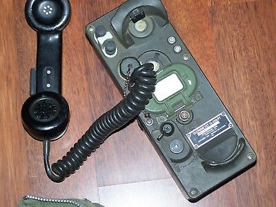 TA312 TA 312 Field Phone Working Telephone Signal Ordnance Army Military USMC