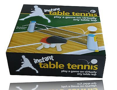 TABLE TENNIS INSTANT - Top Quality - Indoor Outdoor Ping Pong Travel Shack Game