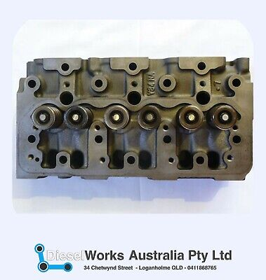 Yanmar 3TNV88 Cylinder Head complete with valves