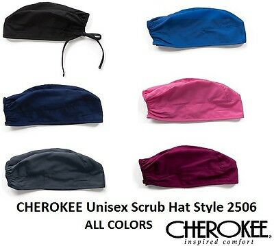 Cherokee Unisex Scrub Hat ALL COLORS Style 2506