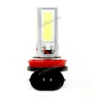 2x H8 COB LED 6000K High Power Fog Driving Headlight Light Lamp Bulb White NEW