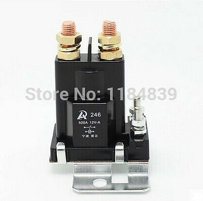 500A DC contactor large current relay total power 24V authentic modified car