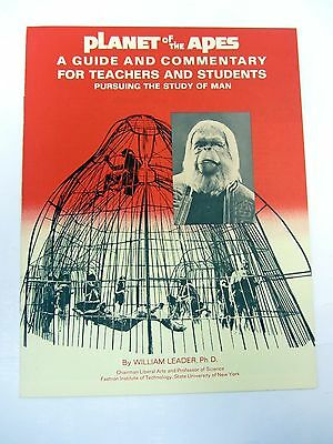 PLANET OF THE APES Guide & Commentary for Teachers & Students Charlton Heston