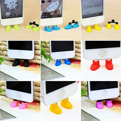 Cute Shoes USB Data Charging Port Anti Dust Plug cover cap for Android Micro USB