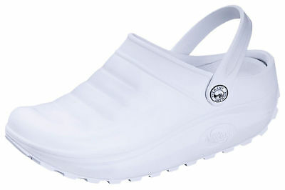 Anywear Unisex Lightweight Injected Plastic Medical High Lobe Clog Shoes. POINT