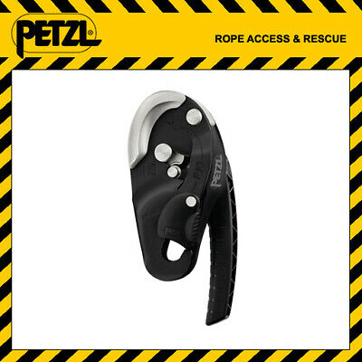 Petzl RIG Self Braking Descender Belay Device BLACK