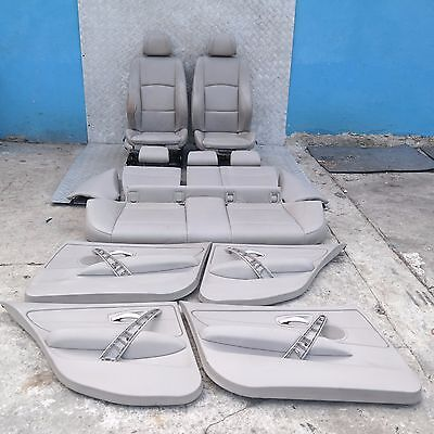 BMW 1 SERIES E87 LCi M Sport Lemon Leather Interior Seats with Airbag Door Cards