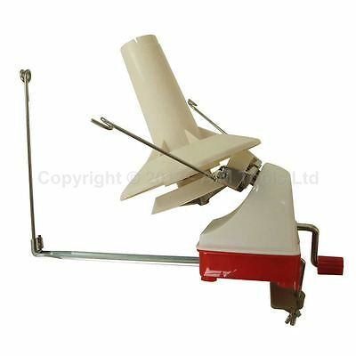 990226 Hand Operated Yarn Fiber Wool String Thread Skein Ball Winder