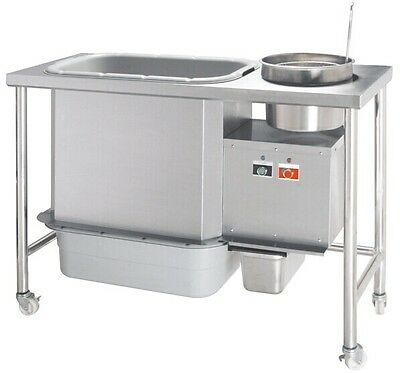 Breading Table  For Mixing Flour With Chicken- Small Size  Like Archways
