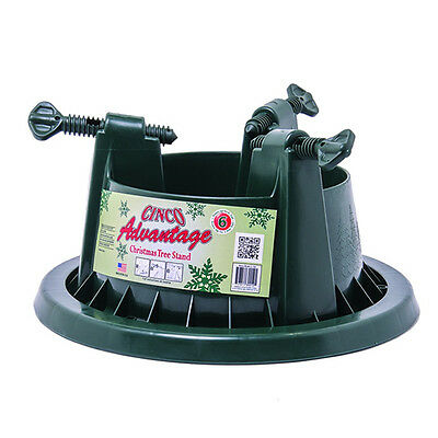 6Ft Cinco Advantage Christmas Tree Stand Heavy Duty Xmas Water Resevoir
