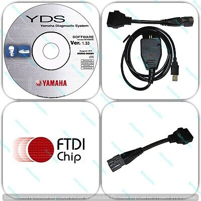 Yamaha YDS Diagnostic cable set for Outboard / WaveRunner /Jet Boat