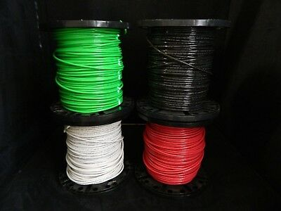 14 GAUGE THHN WIRE STRANDED PICK 2 COLORS 25 FT EACH THWN 600V CABLE AWG