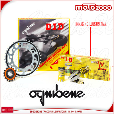 Kit Trasmissione Catena Corona Pignone Did Ducati Monster 800 S2R Dark 2005 2007