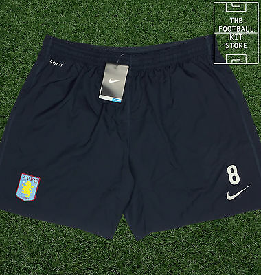 Aston Villa Training Shorts - Official Nike Shorts with Numbers - Mens - L-2XL