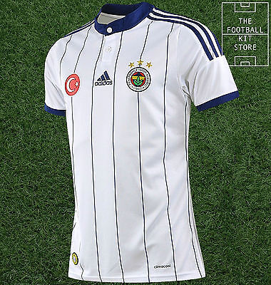 Fenerbahce Away Shirt - Official Adidas Football Shirt Mens - All Sizes