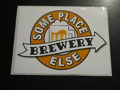 SONORAN BREWING COMPANY Burning Bird Pale Ale STICKER decal craft beer brewery