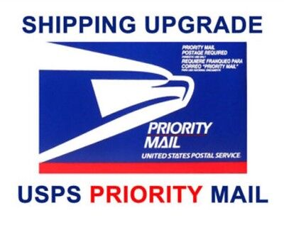 Upgrade Your Order To Priority Shipping For Only $6.95 1-3 Day. Size 50-450 Only