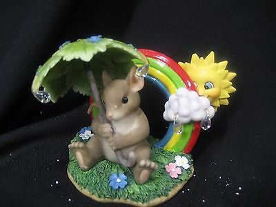 charming tails  Fitz & Floyd 89/143 There's no rainbow without the rain 2003