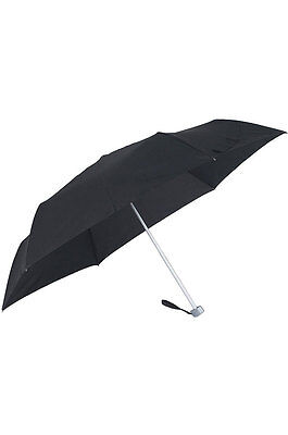 Samsonite Rain Pro Travel 3 Section Umbrella, Black