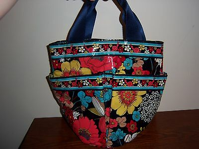 Vera Bradley Happy Snails Shower Caddy