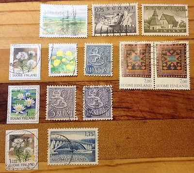 Assorted Stamps from Finland Suomi