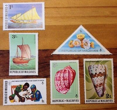 Assorted Stamps from Maldives