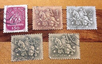 Assorted Stamps from Portugal