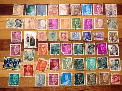 Assorted Stamps from Spain Espana