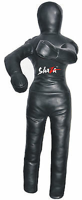 "Wrestling dummy bag 70"" two legs two arms black colour for training and exercise"