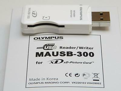 Olympus Original MAUSB-300 Portable XD-Card USB Reader/Writer