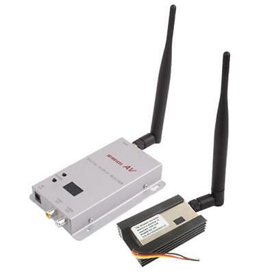 Audio / Video Transmitter 1.2GHz 1500mW 15 canali wireless in camera-a-Room