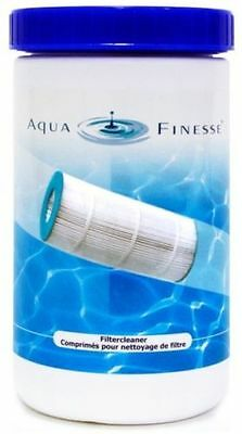 Aquafinesse Filter Cleaner Pot   Pool Spa Hot Tub Water Care 20 Square  Tablets