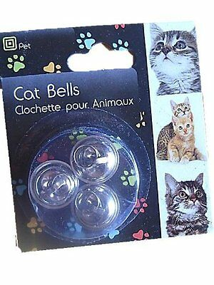 Cat Bell For Collar Loud Bell kitten Saves Birds & Wildlife pack of 3 bells New